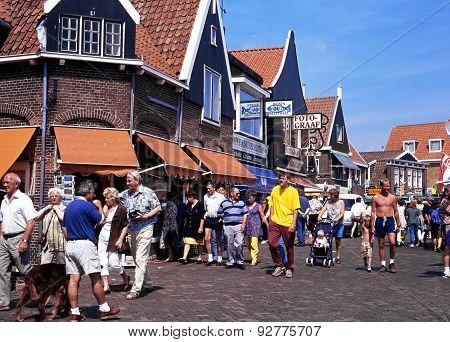 Shopping Street, Volendam.