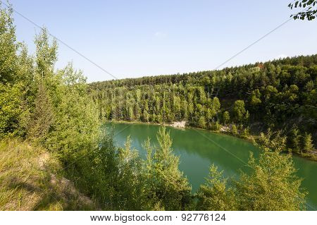 artificial lake Belarus