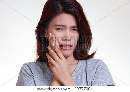 Woman Toothache
