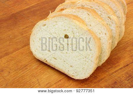 Wheat Loaf Sliced