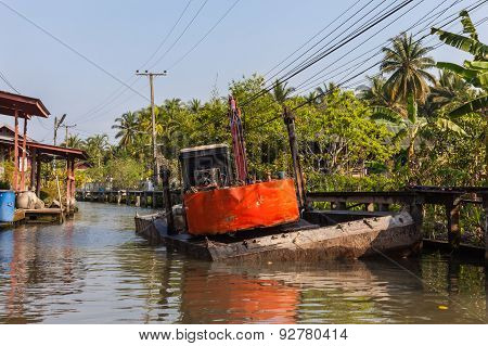 Digger On Water