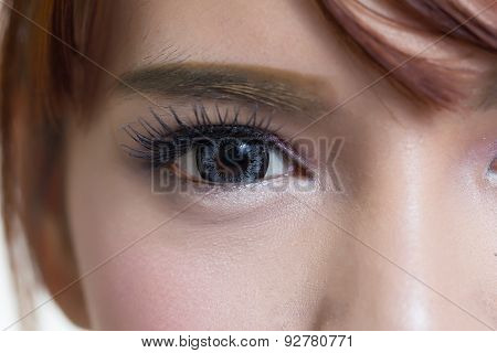Close-up Woman Eye