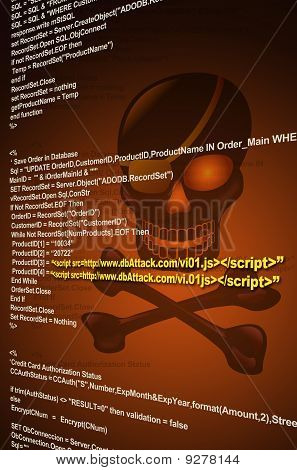 Internet Application Virus Attack