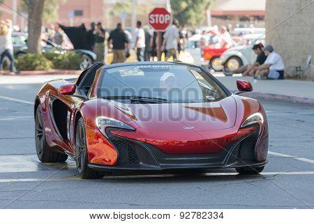 Mclaren P1 Car On Display
