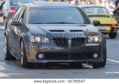 Pontiac G8 Gt Car On Display