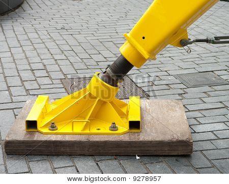 Hydrolic Foot