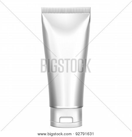 Blank Cosmetics Packages, Tube Template
