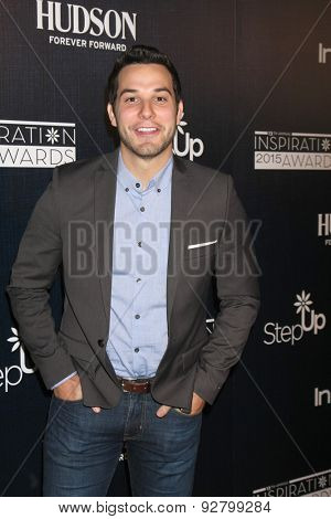 LOS ANGELES - JUN 5:  Skylar Astin at the Step Up Women's Network 12th Annual Inspiration Awards at the Beverly Hilton Hotel on June 5, 2015 in Beverly Hills, CA