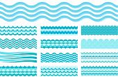 picture of wavy  - Collection of marine waves - JPG