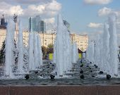 foto of fountain grass  - image of many fountain on street at day - JPG