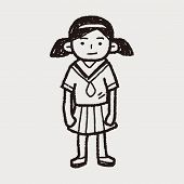 pic of grils  - Gril Doodle - JPG