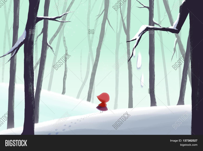 Winter snow nature landscape deer vector wallpaper | 2560x1600 ...