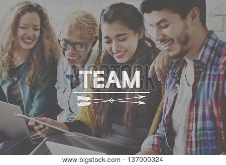 Team Alliance Collaboration Company Unity Concept