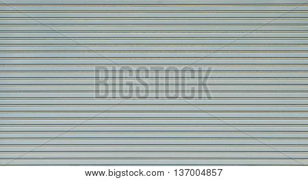Metal industria texturel closed door for background