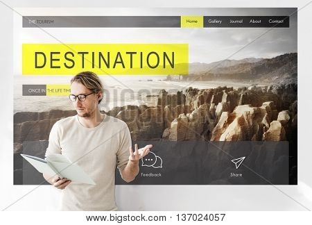 Adventure Exploration  Destination Travel Wanderlest Concept