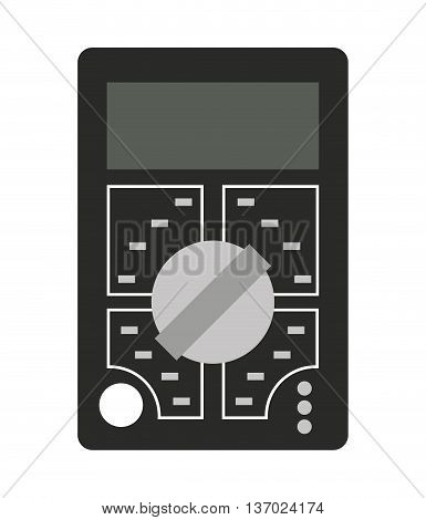 electrical tester isolated icon design, vector illustration  graphic