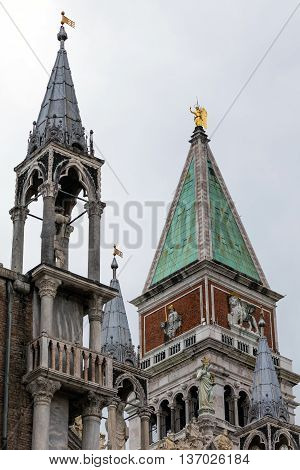 Top Of The 16Th Century St. Mark's Campanile
