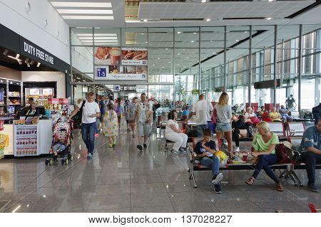 The Burgas Airport