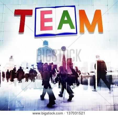 Team Teamwork Partnership Alliance Unity Concept