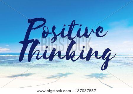 Positive Thinking Attitude Choice Inspire Mindset Concept
