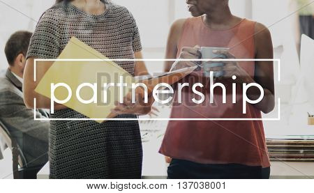 Partnership Agreement Alliance Association Concept