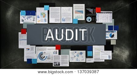 Audit Compliance Evaluation Financial Statement Concept