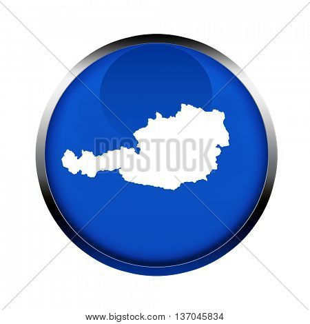 Austria map button in the colors of the European Union.