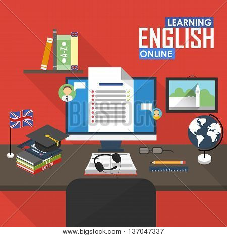 Online education English language, distance and online training courses. English online.