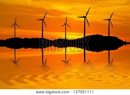 energy in the landscape