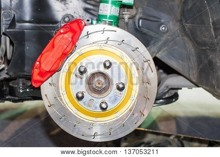Front Disk Brakes System