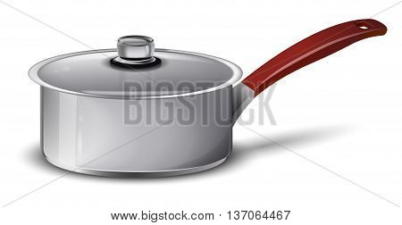 pan isolated on a white background, vector illustration.