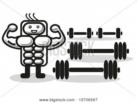 Funny Muscleman