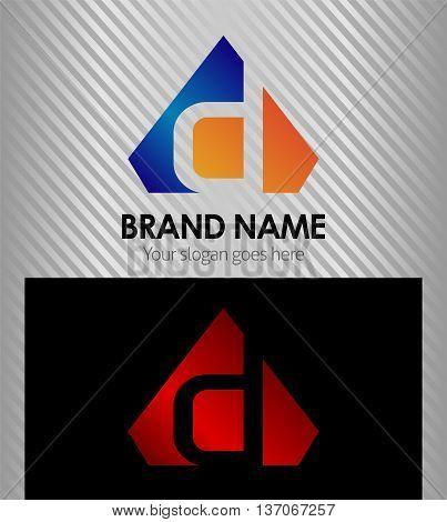 Letter D Letter D template design vector
