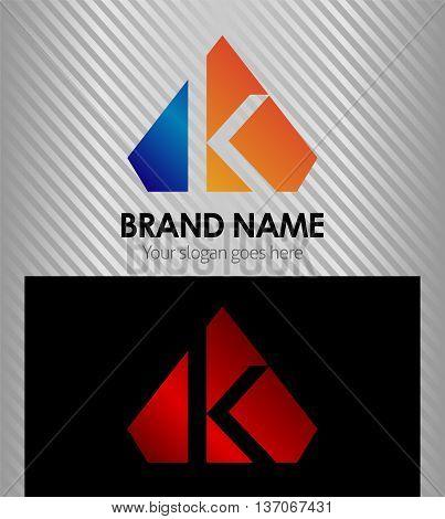 Letter K Letter K template design vector