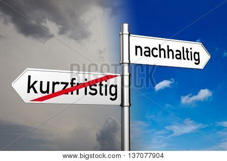 Decision between German words