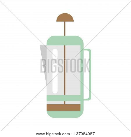 Coffee device Kettle Icon - stock vector illustration.