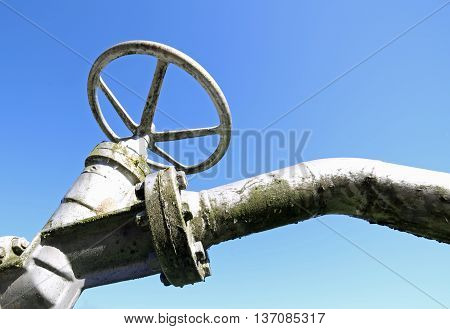 Valve For Closing And Opening Gas Pipeline