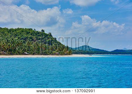 Nacapan beach Palawan Philippines
