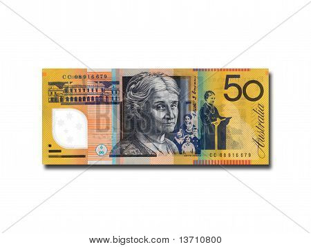 Australian Fifty Dollar Note