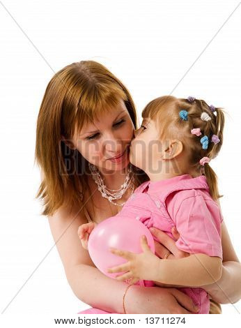 Kissing Mother