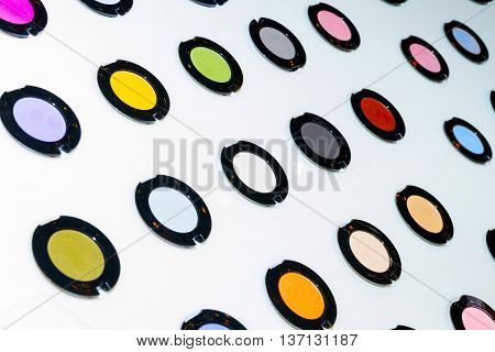 Palette Of Eyeshadow Powders