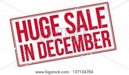 Huge Sale In December