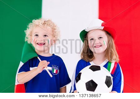 Happy Kids, Italy Football Supporters