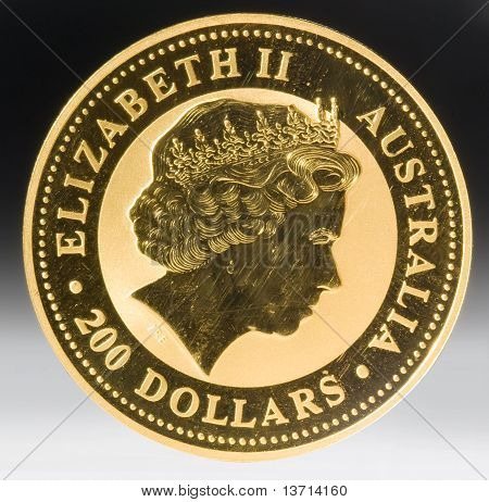 Australian two hundred dollar coins