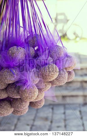 natural lavender gift on the Hvar Island