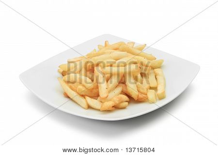 Dish With Fried Potatoes