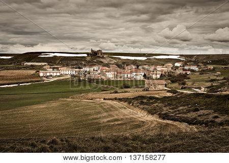 Valdeajos Village