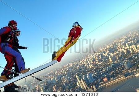 Base Jumping In Shanghai