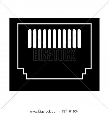 simple flat design floppy disk icon vector illustration