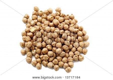 Chick peas from Top